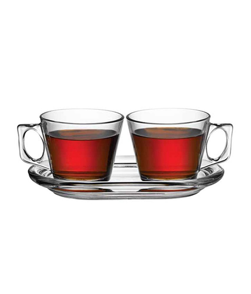 Pasabahce Glass Tea Set 3 Pcs ml