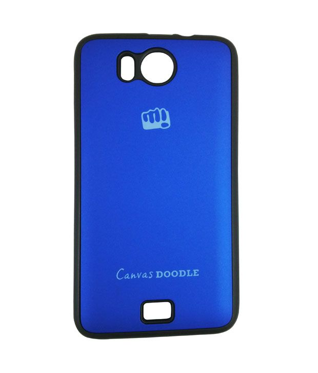 the best attitude 065a1 97968 Case Micromax Canvas Doodle A111 Back Cover (blue)_rldmacc000149 ...