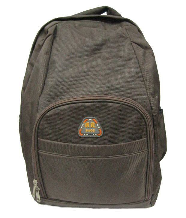 R-dzire Backpacks Ar 1681 Dark Brownlaptop Bags
