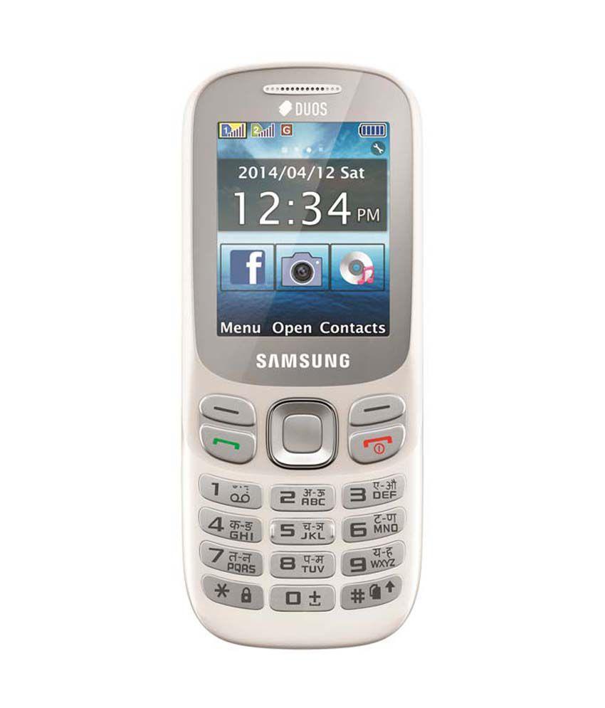 Samsung Metro 312 White