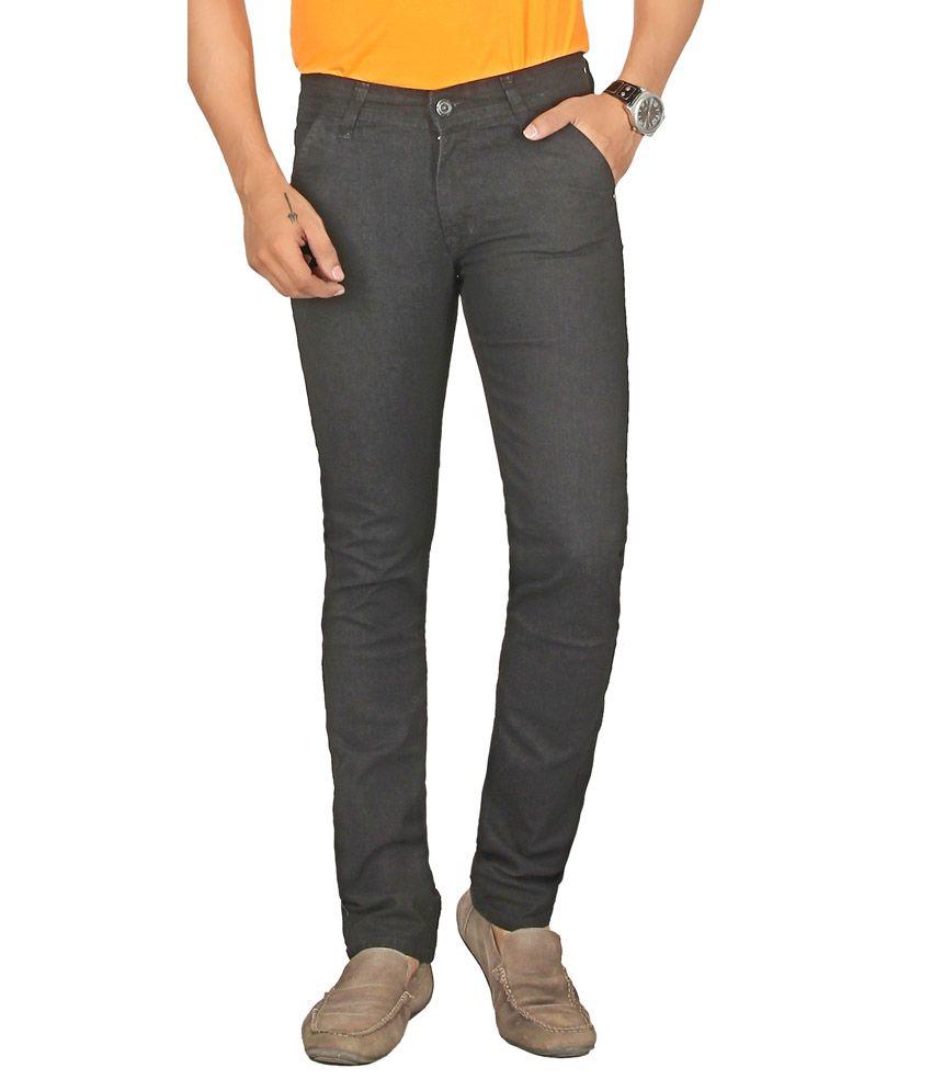 Sloper Black Regular Jeans