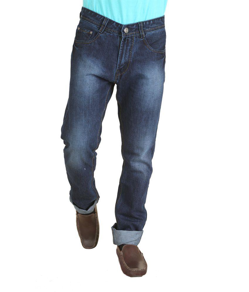 Gamps Blue Regular Fit Jeans