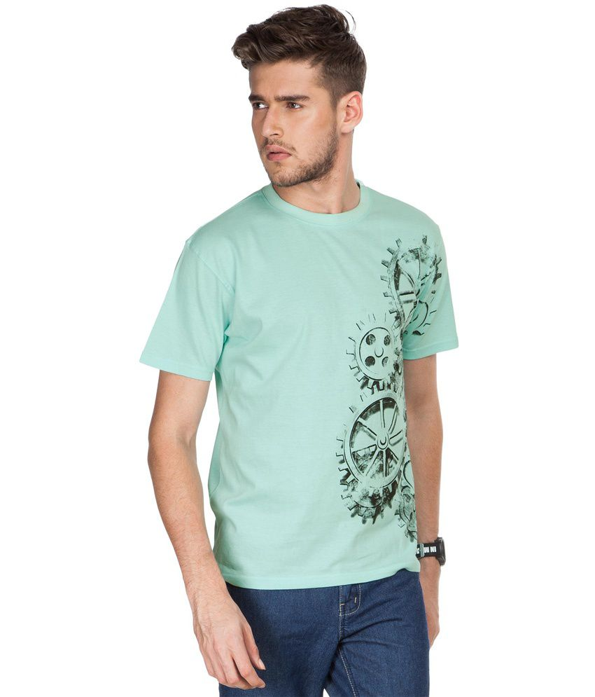 Zovi Wheels In Motion Jade Graphic T-shirt
