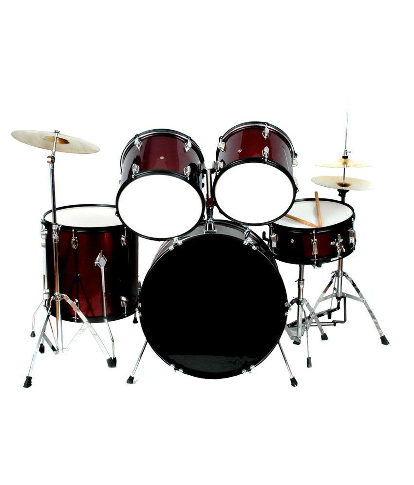 kadence 5p pro beginner drumset black buy kadence 5p pro beginner drumset black online at. Black Bedroom Furniture Sets. Home Design Ideas