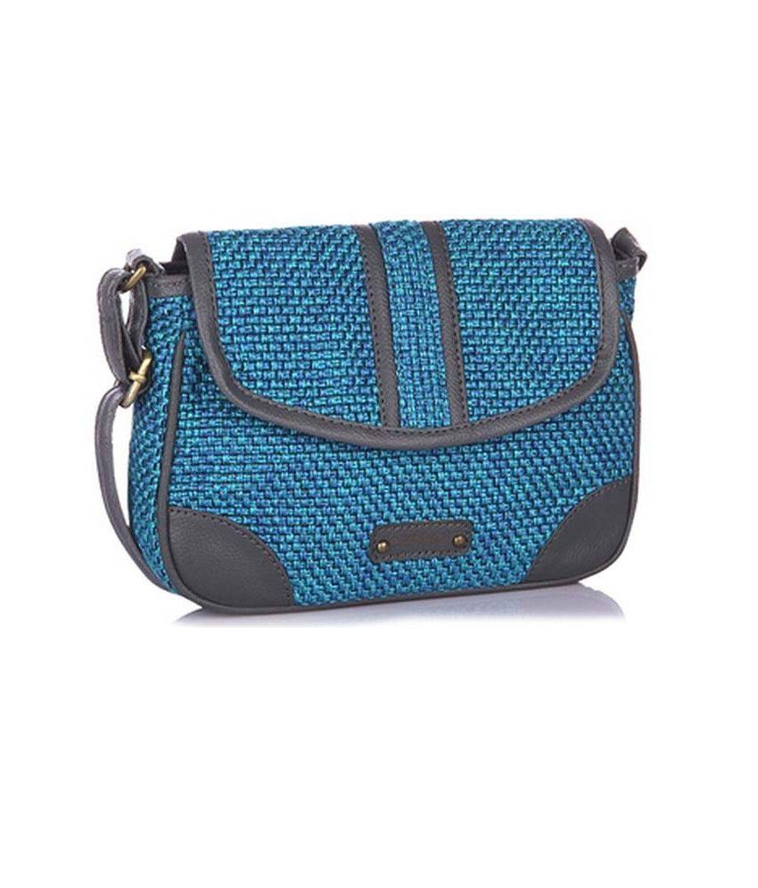 Peperone Pslbl467 Blue Sling Bags