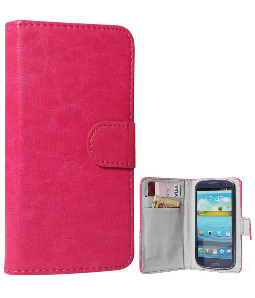 another chance fbcaf e6219 Dmg Universal Flip Cover For Spice Stellar Mettle Icon Mi-506 - Magenta