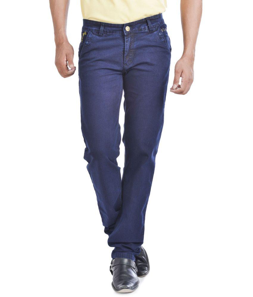 Wintage Jeans Blue Regular Fit Jeans