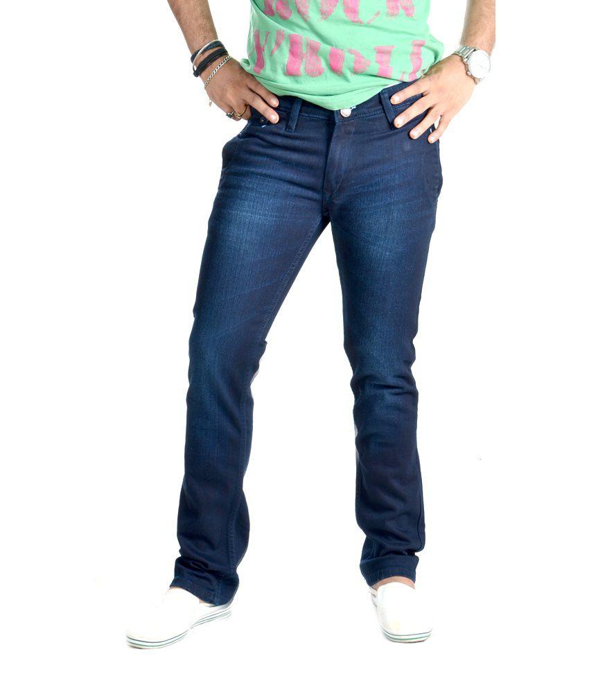 Actual Jeans Blue Slim Fit Jeans