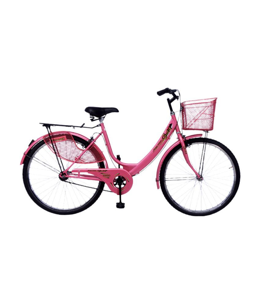 3c7d9631009 Hero Miss India Gold 26 Bicycle Pink Adult Bicycles/Women Bicycle: Buy  Online at Best Price on Snapdeal