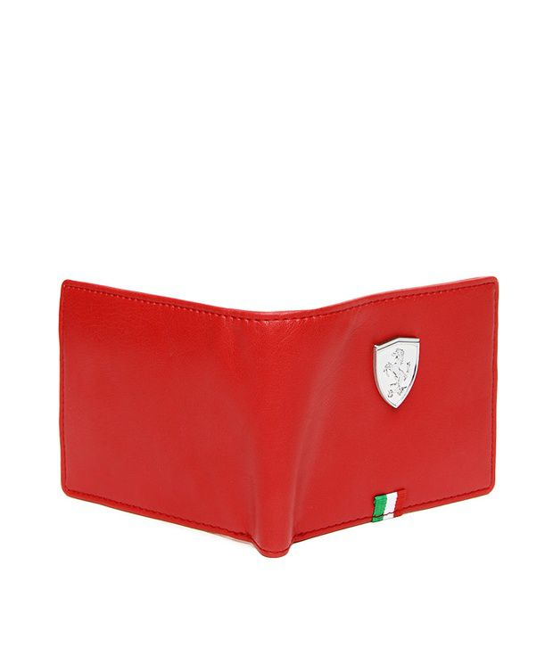 d193aca87a Puma Mens Red Ferrari Wallet: Buy Online at Low Price in India ...