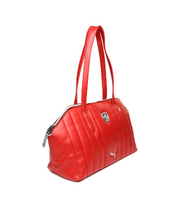 Puma Red Ferrari Ls Shoulder Bag