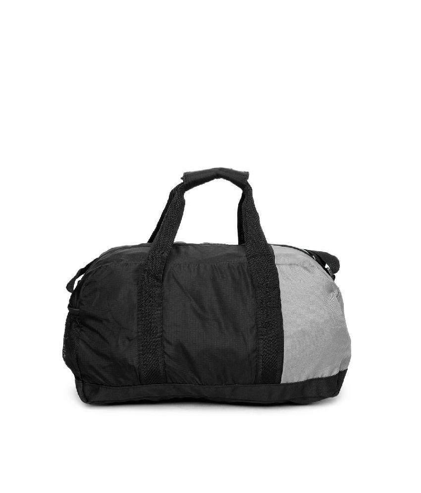 482fad45ad14 Puma Unisex Fundamentals (7257401-x) Black   Grey Duffle Bag - Buy ...