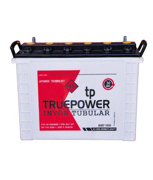 True Power Quot Invon Mini Tubular 1650 150ah Inverter Battery