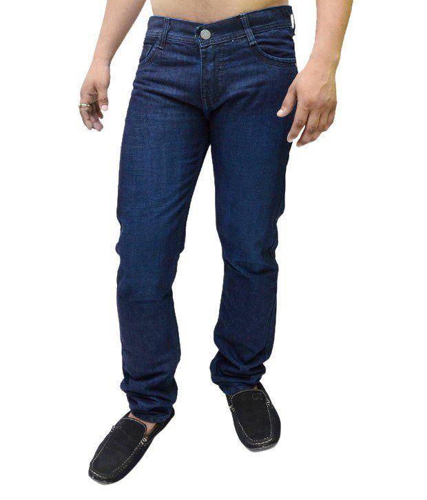 Nation Mania Blue Cotton Jeans