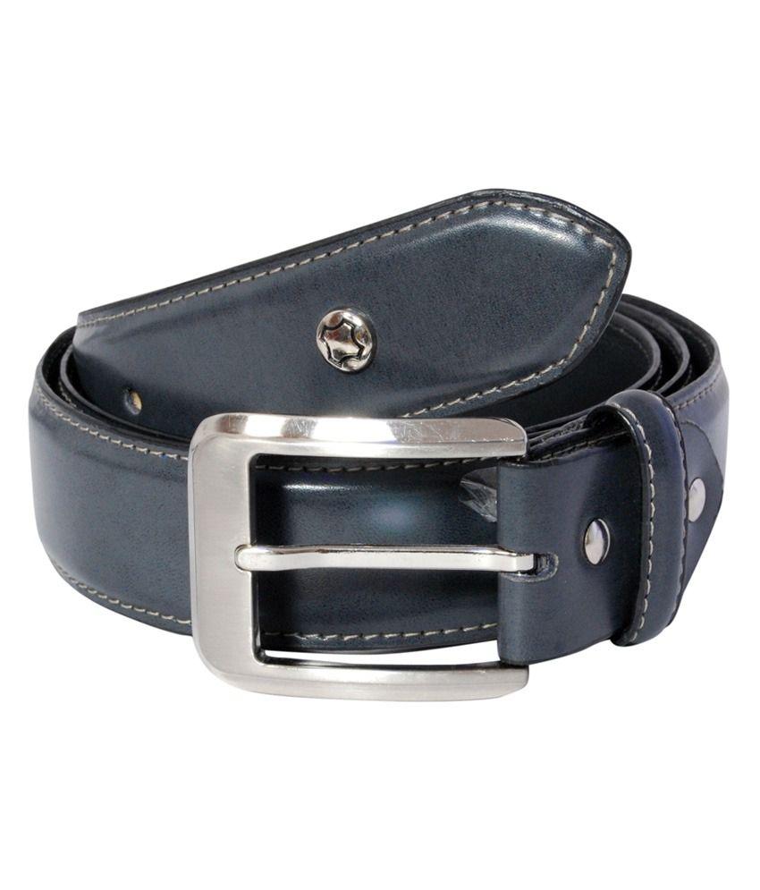 Hidea Black Formal Single Belt For Men