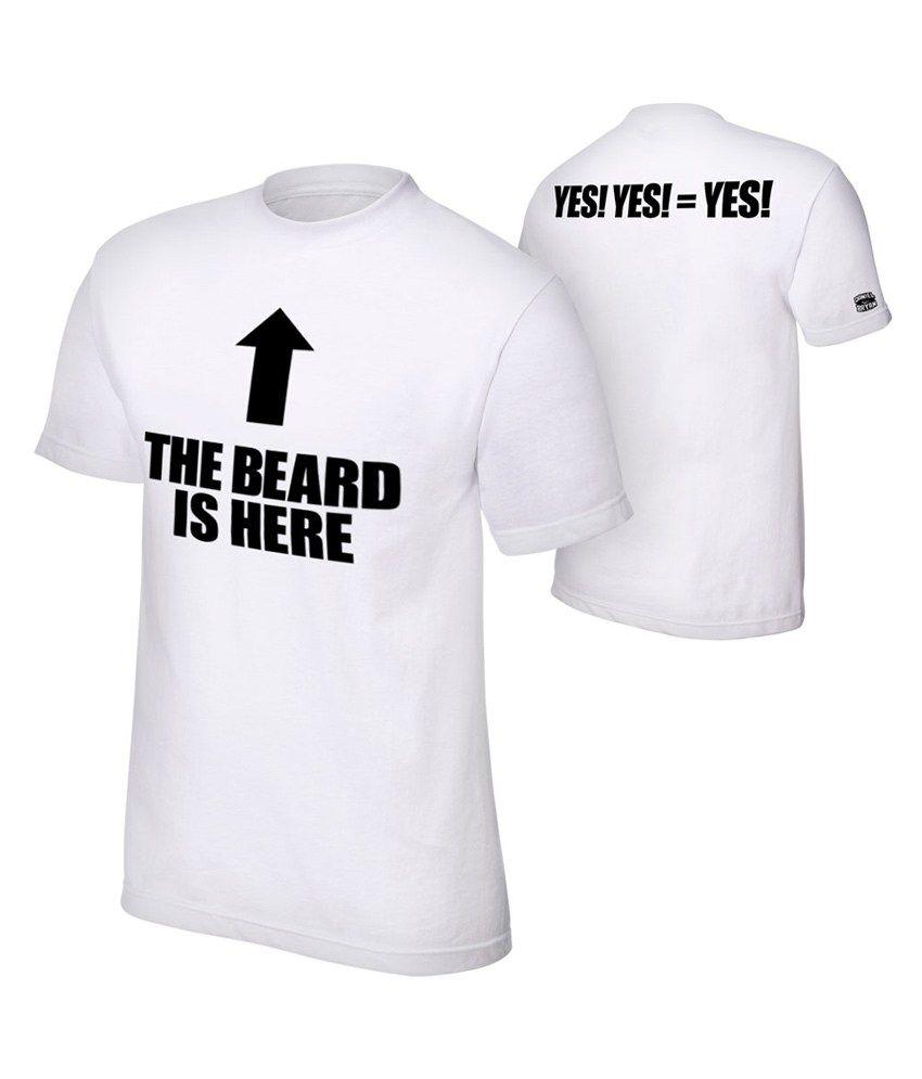 Attitude Designer Tees The Beard Is Here T Shirt