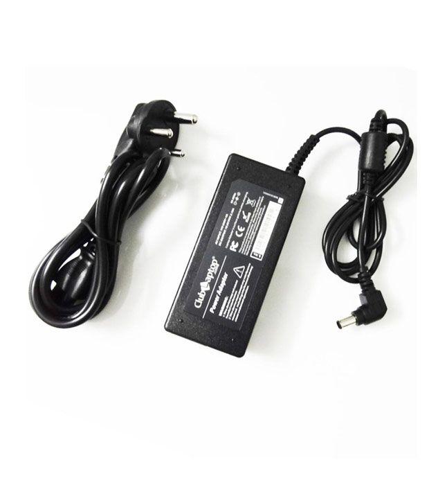 Clublaptop 90w Sony VGNFS635BW VGNFS640 19.5V 4.74A (6.5 x 4.4 mm) Laptop Adapter Charger