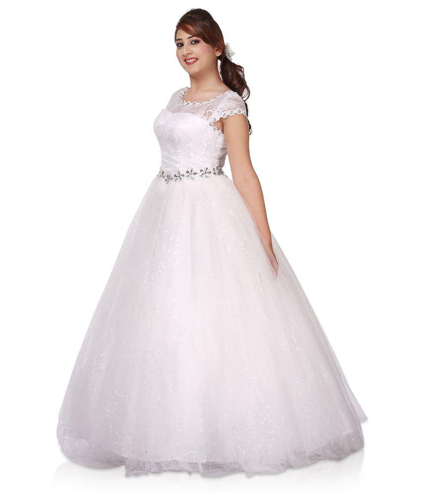 Gorgeous Net Elegant Ball Wedding Gown