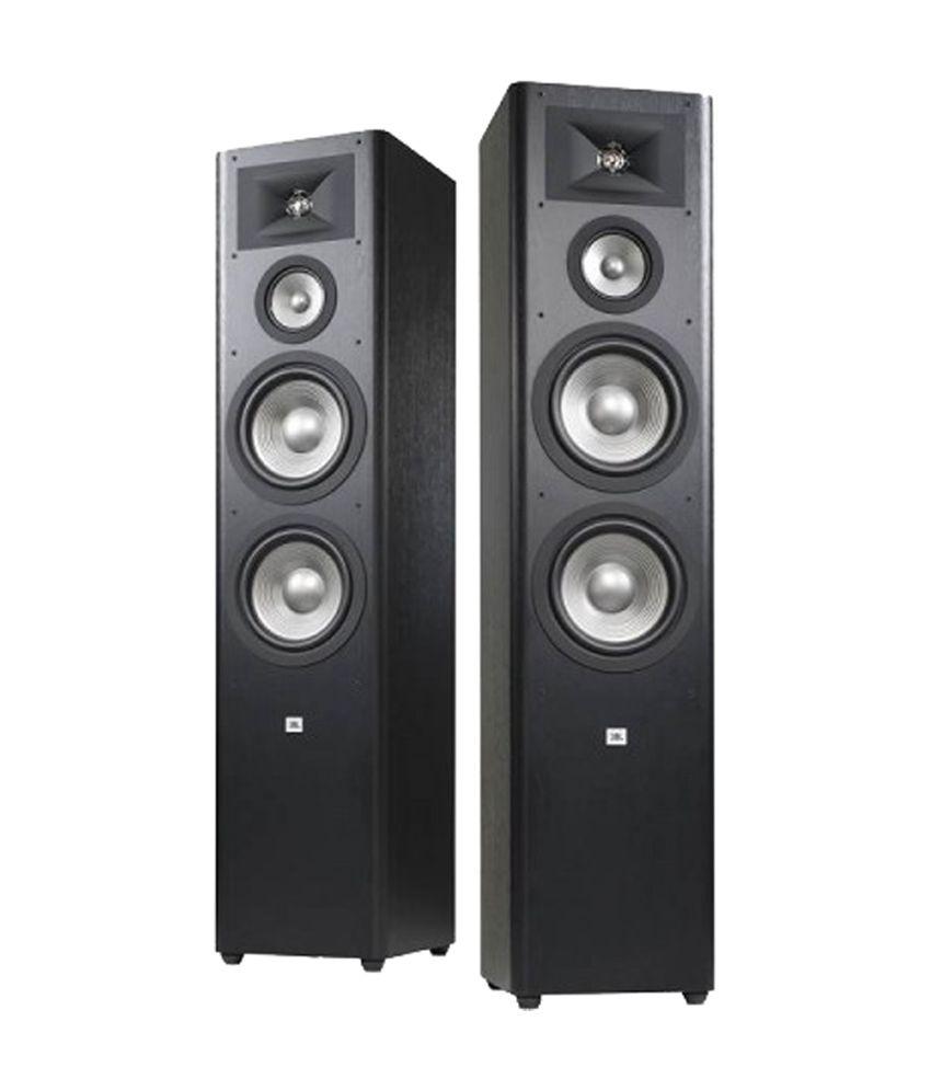 Buy Jbl Studio 290blk Floorstanding Speaker Online At Best