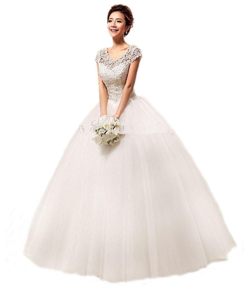 Sweet Princess Elegant Net Neck Ball Gown - Buy Sweet Princess ...
