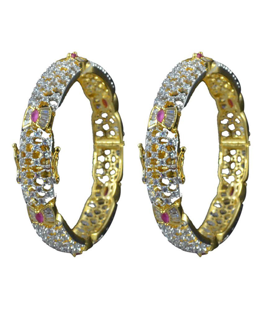 Adorn Fashions Gold Party Wear Bangles