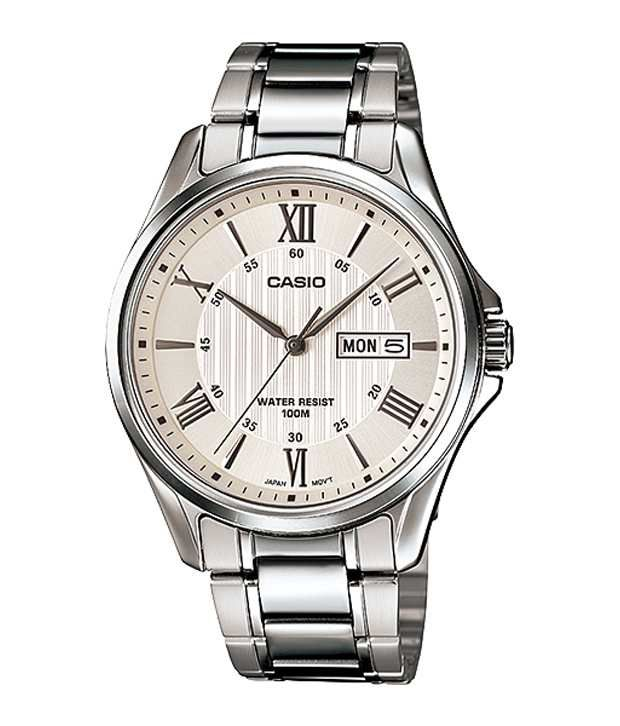 41d5f82ac7f2 Casio Analog White Formal Men Watches - Buy Casio Analog White Formal Men  Watches Online at Best Prices in India on Snapdeal