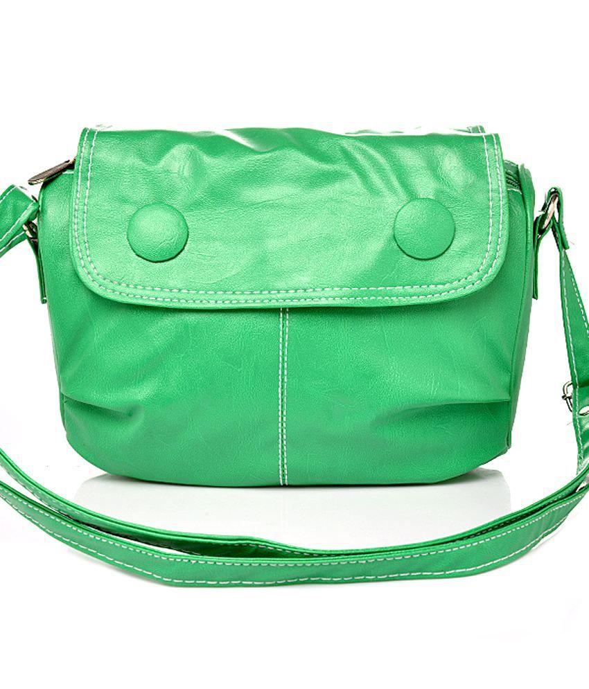 Felicita Green Sling Bag