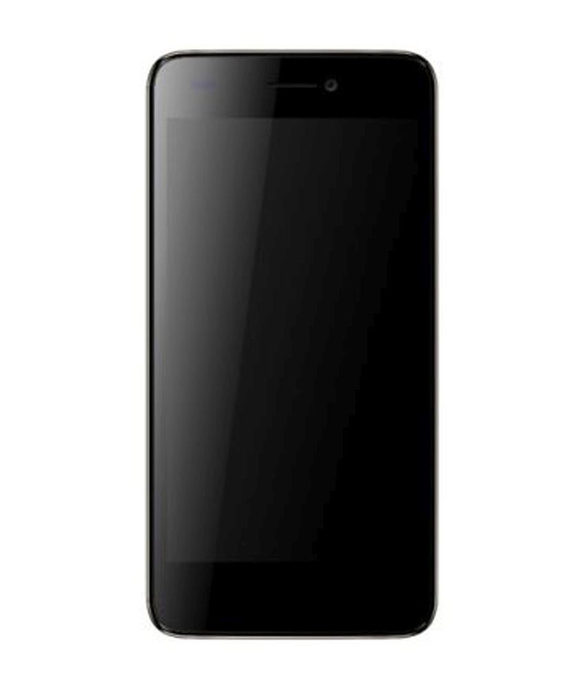 Micromax Canvas knight cameo A290 (8GB, Black and Gold)