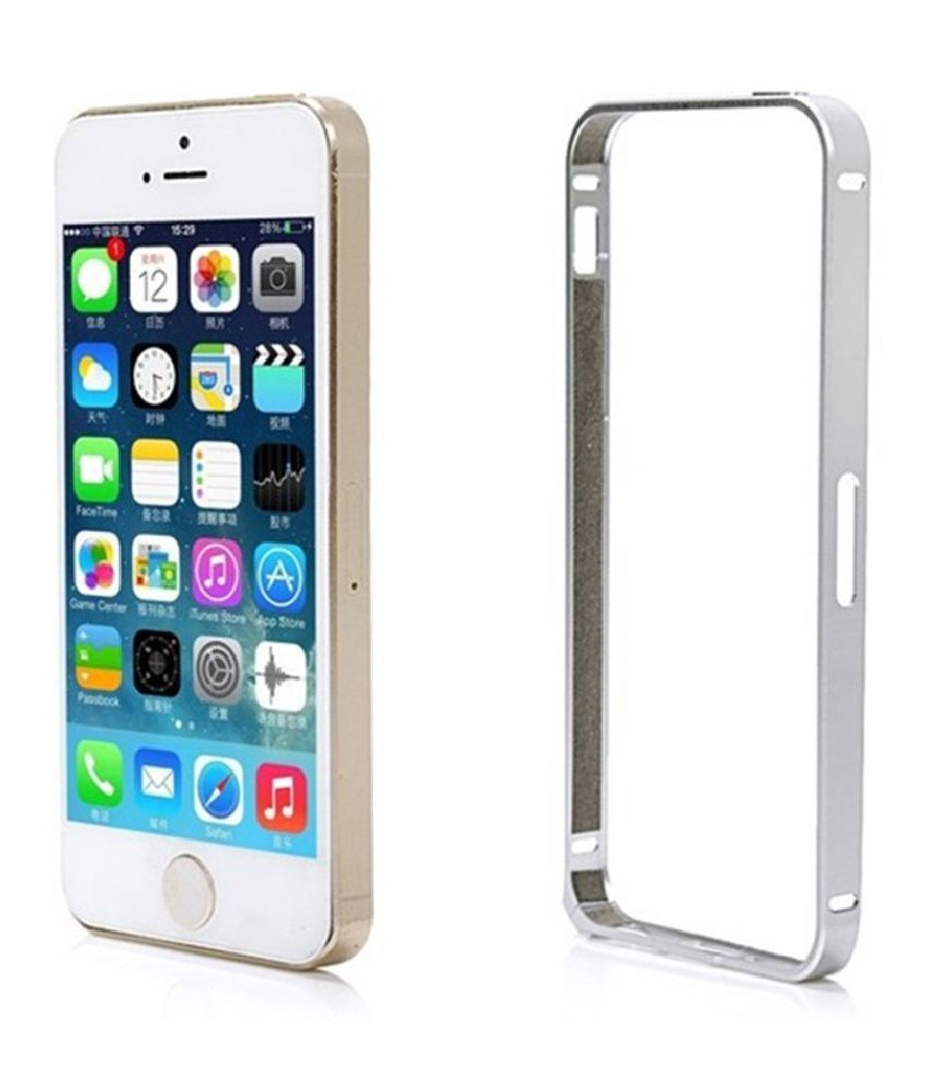 luxury aluminum metal hard frame phone bumper cover case for iphoneluxury aluminum metal hard frame phone bumper cover case for iphone 5 5s bumpers online at low prices snapdeal india