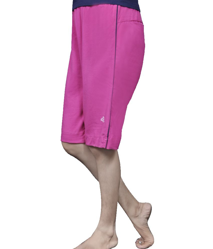 5816ef0a07 Buy Jockey Pink Cotton Shorts Online at Best Prices in India - Snapdeal