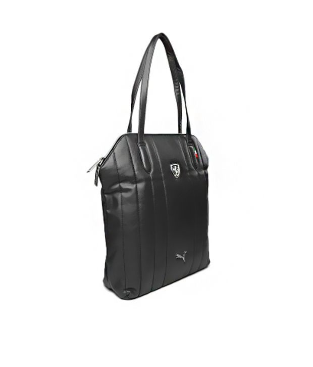 cdc063bac8 Puma Black Ferrari Ls Shoulder Bag Puma Black Ferrari Ls Shoulder Bag ...