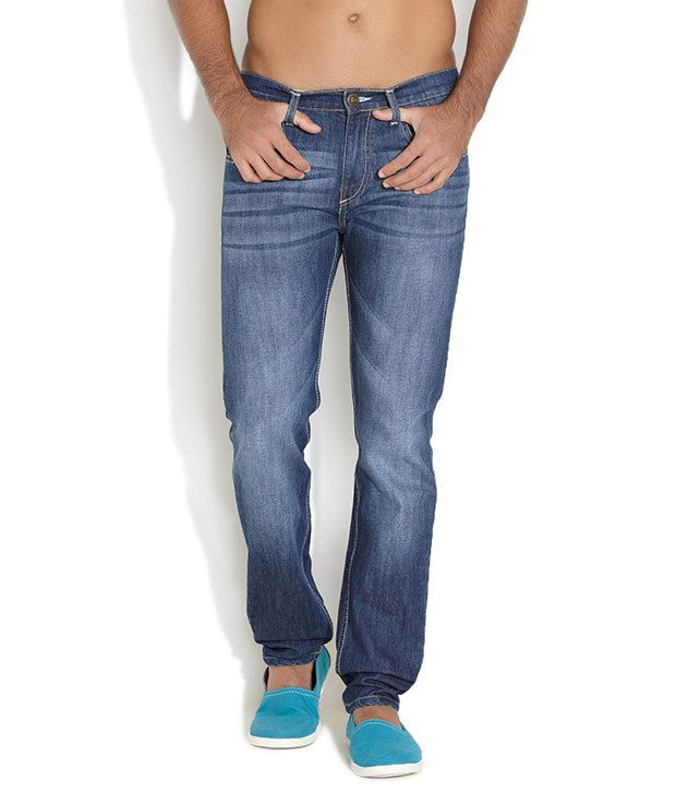 Ferrous Medium Blue No Joking Style Jester Jeans