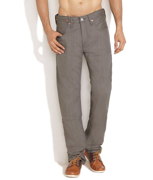 Levi'S Green No-Fuss Straight Fit Jeans