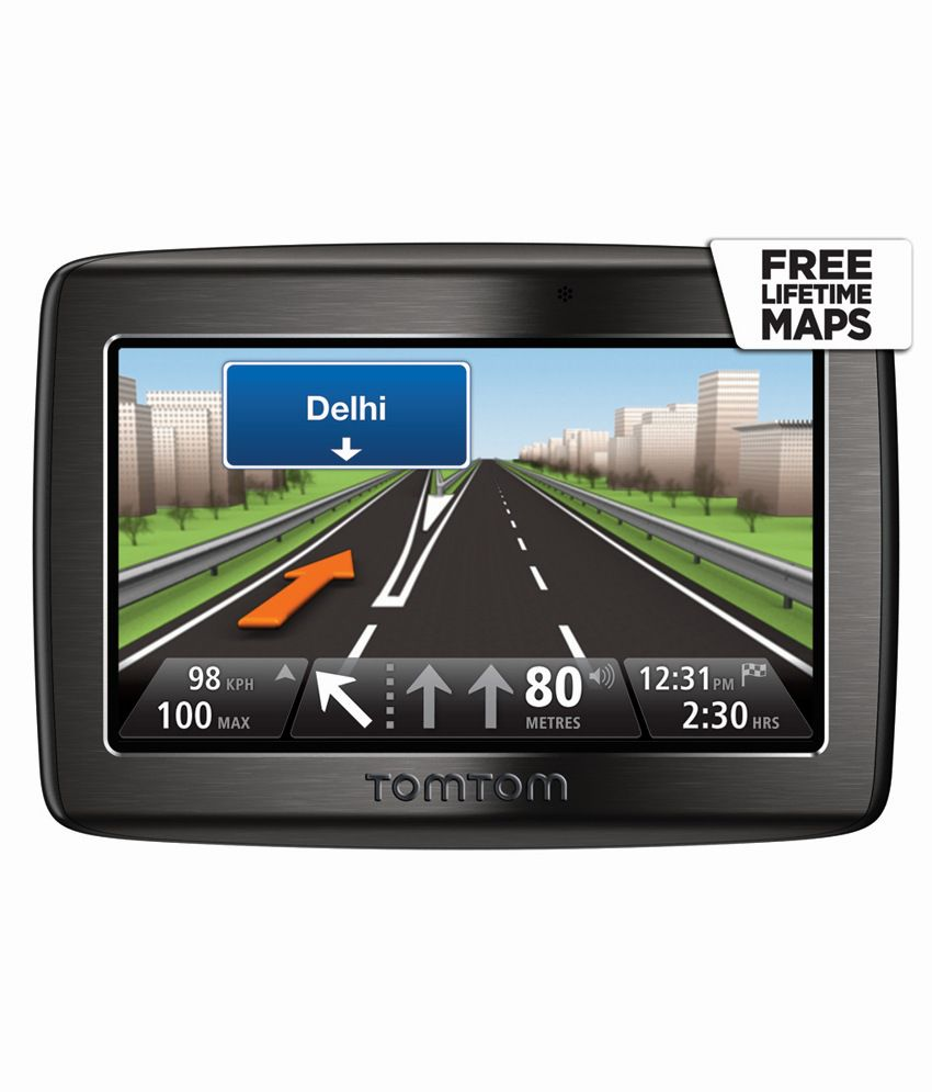 "TomTom – In Car GPS Navigation – VIA 120 (4.3"" Touchscreen)"