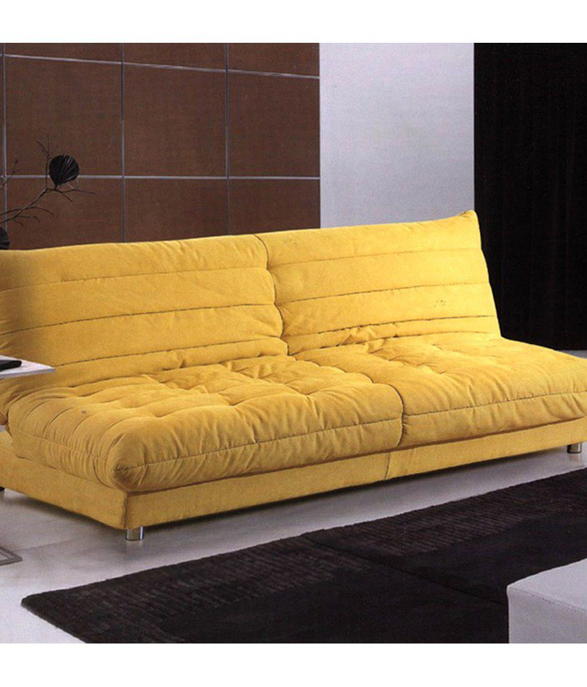 Gaiety sofa bed yellow buy gaiety sofa bed yellow online for Sofa bed online