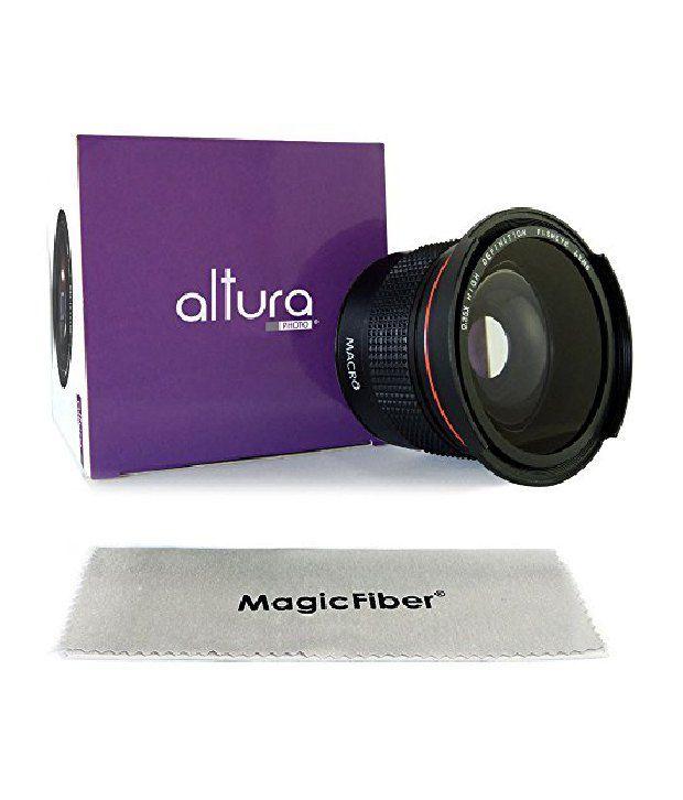 Altura Photo 58mm 035x Professional Super Fisheye Wide Angle Lens