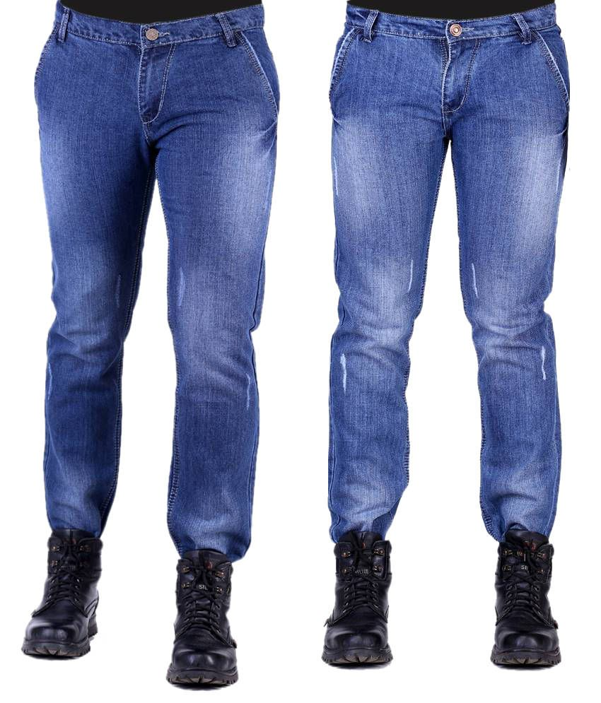 Haltung Faded Set Of 2 Slim Fit Jeans With 1 Pair Of Socks
