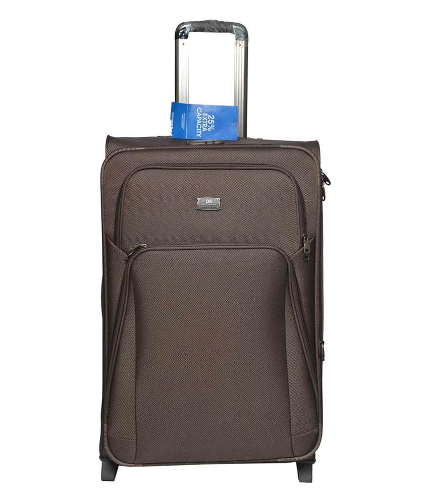 948aca470628 Polo Nobler Brown Trolley Bag - 74 Cms - Buy Polo Nobler Brown Trolley Bag  - 74 Cms Online at Low Price - Snapdeal