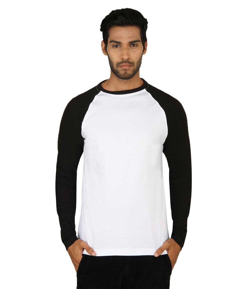 Sayitloud Two Tone White And Black Full Sleeve T Shirt - Buy Sayitloud Two  Tone White And Black Full Sleeve T Shirt Online at Low Price - Snapdeal.com 53c80dbb59cb