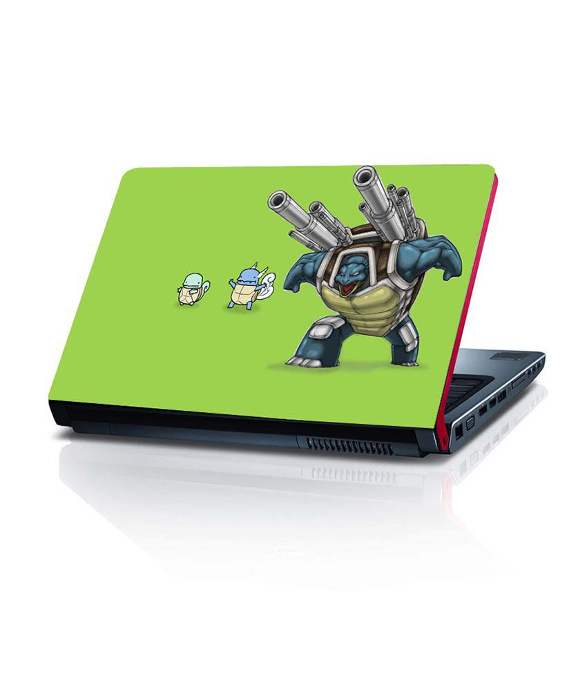 Shopkeeda Choose Squirtle 15.6 Inches Laptop Skin