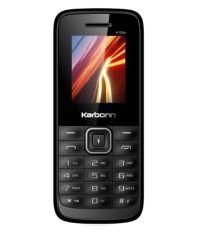 Karbonn K105 S (Black-Red)