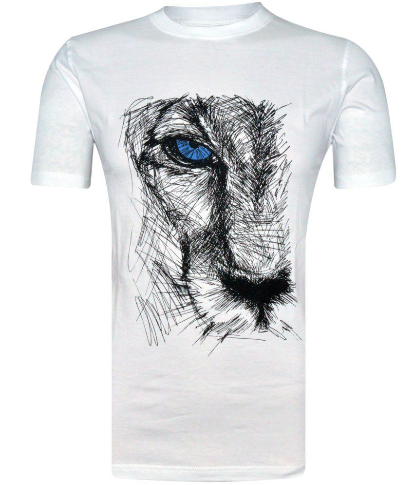 Tee Talkies Authentic Designer T Shirts - Lion