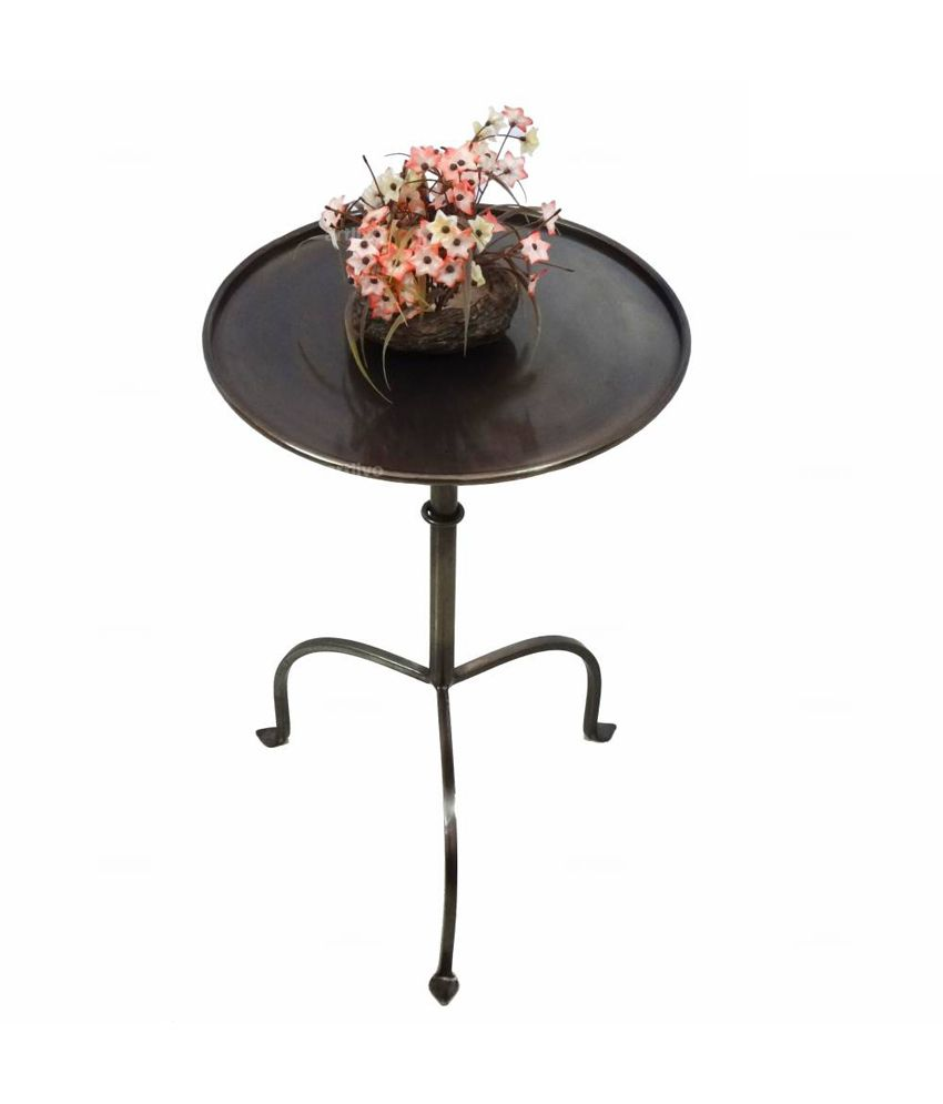 Artlivo Popart Brown Side Table Ta019