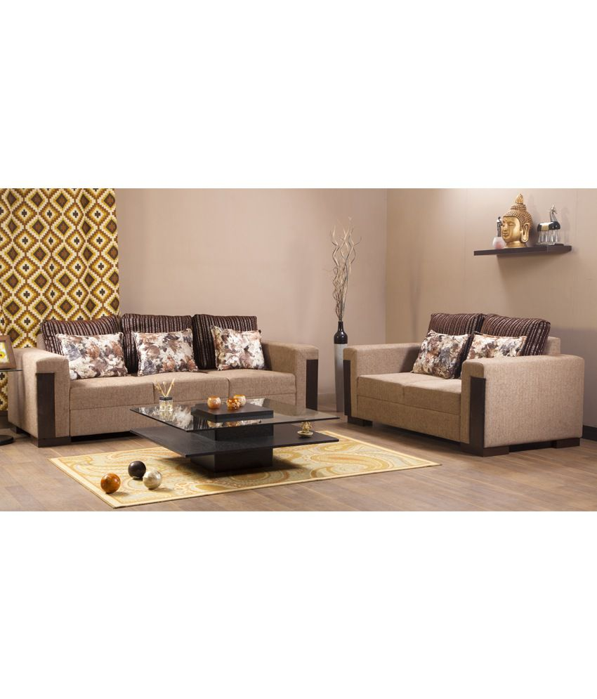 Hometown Amazon Fabric 3 2 Sofa Set Buy Hometown Amazon