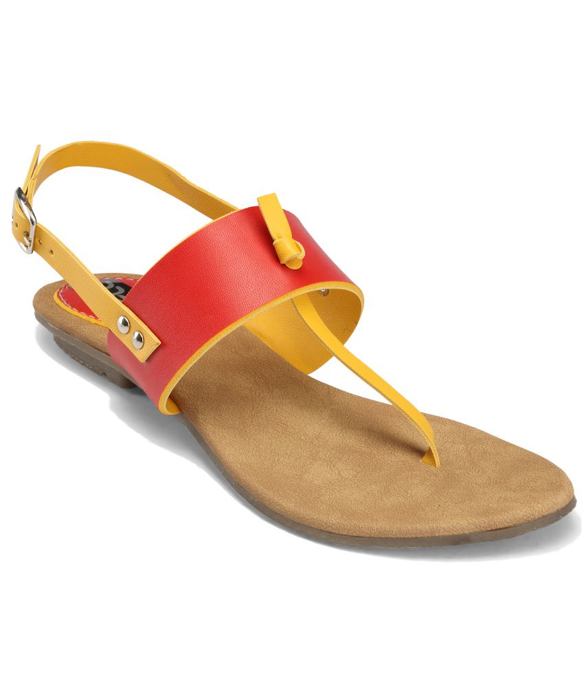 Nell Red Sandal