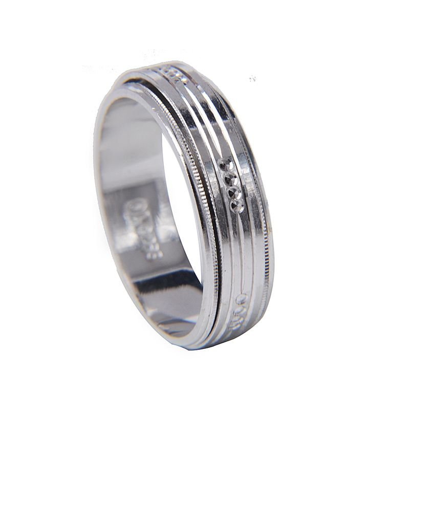Designer Silver Ring By Amantran Jewels For Women