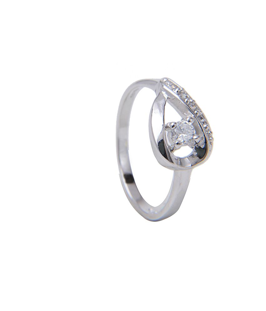designer female 925 silver ring by amantran jewels