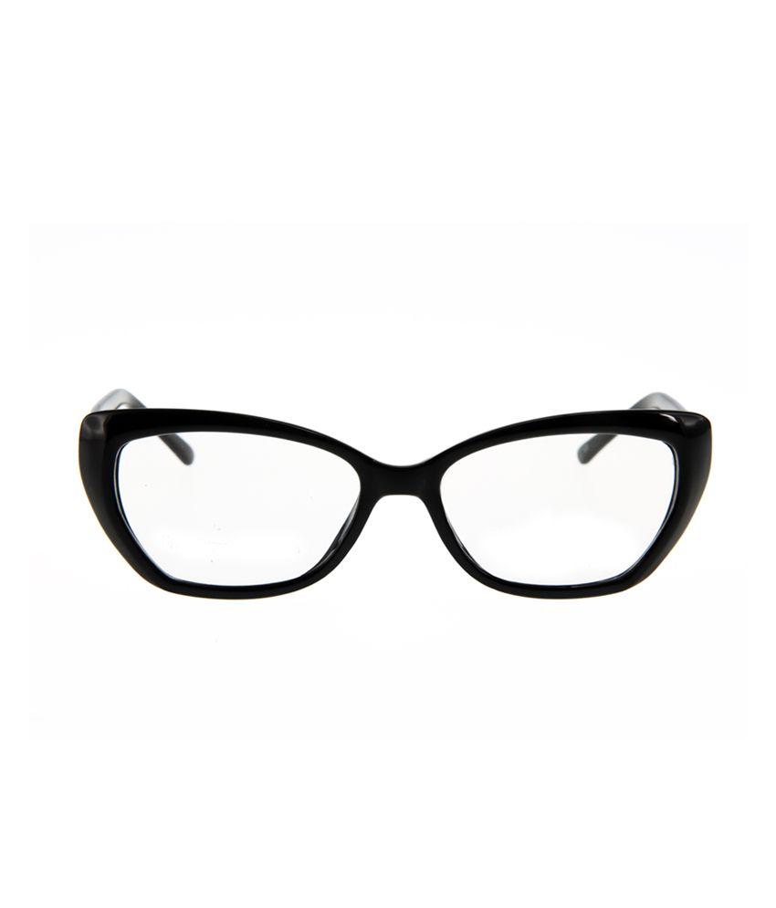 moda cp285926 c2 black cateye eyeglasses snapdeal price