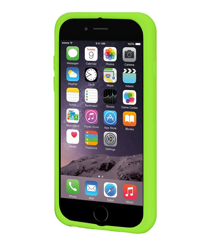 Amzer Back Cover For Apple Iphone 6 Plus - Green