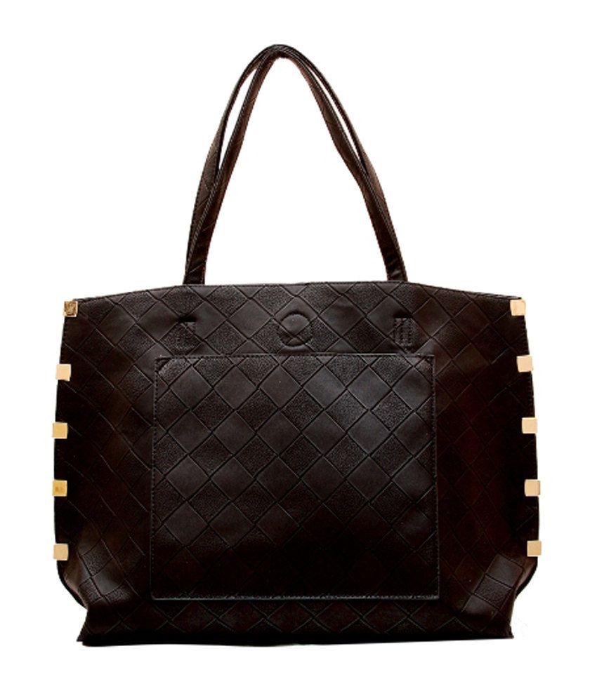 Brown & Bow Black Hand Bag